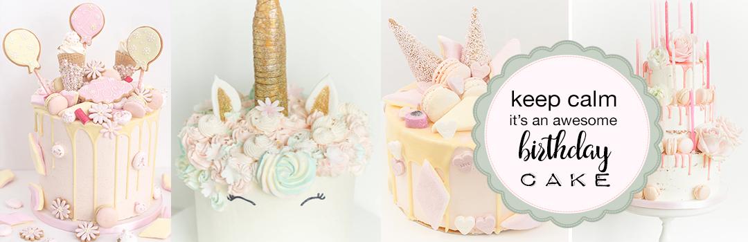 birthday cake sweet appetite