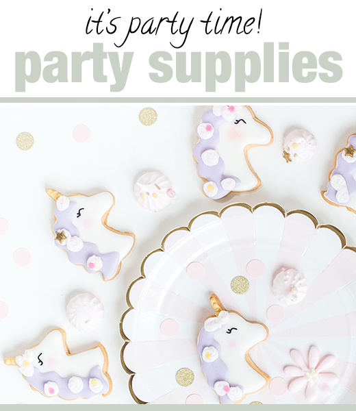 party supplies sweet appetite